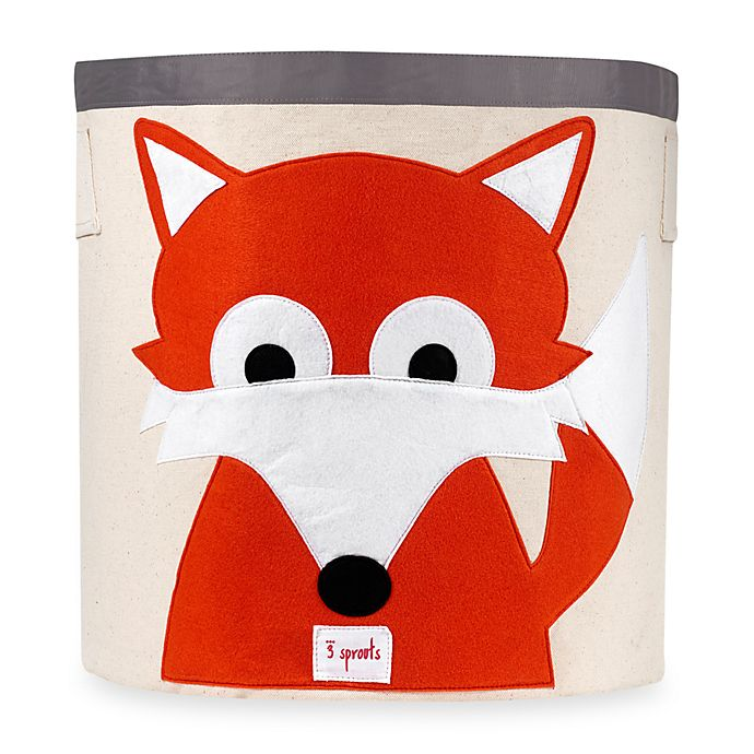 Alternate image 1 for 3 Sprouts Fox Storage Bin