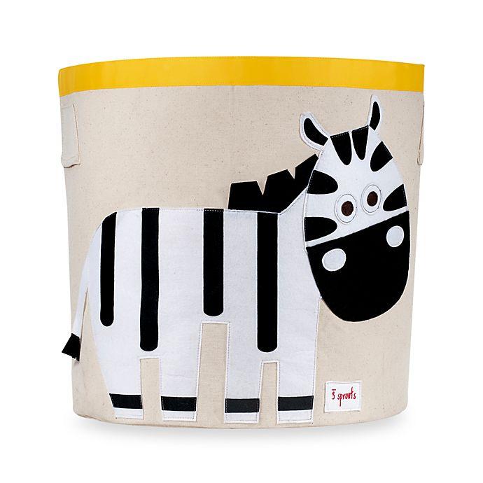 Alternate image 1 for 3 Sprouts Zebra Storage Bin