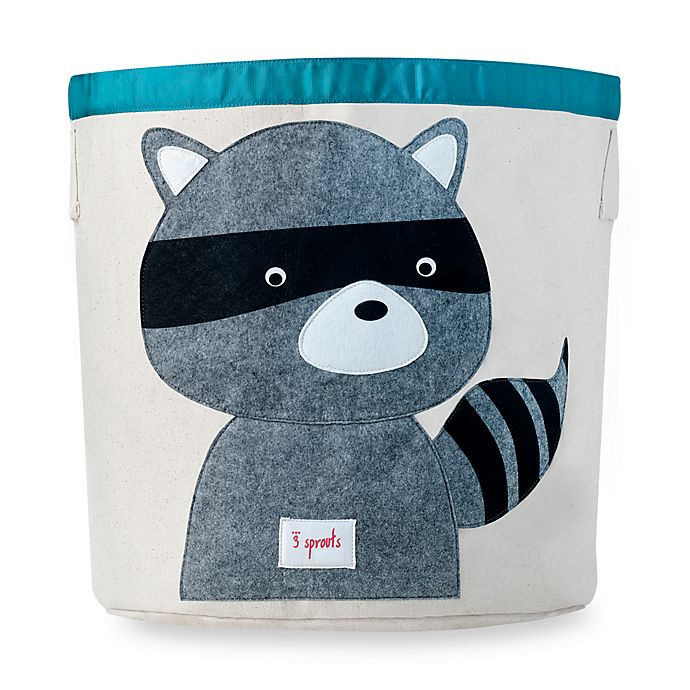 Alternate image 1 for 3 Sprouts Racoon Storage Bin