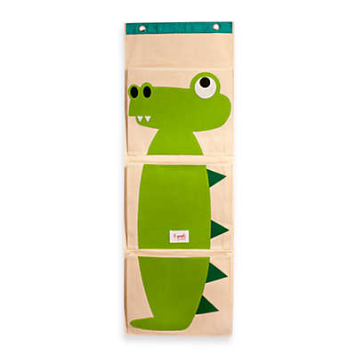 3 Sprouts Hanging Wall Organizer in Crocodile