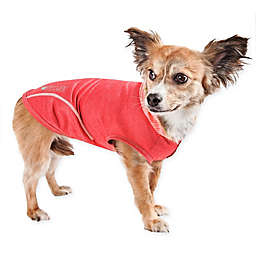 Pet Life® Pull-Rover Small Sleeveless Performance Pet Hoodie in Red