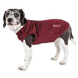 Pet Life® Active Aero-Pawlse Large Dog Performance T-Shirt in Red