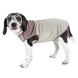 Pet Life® Active Aero-Pawlse X-Large Dog Performance T-Shirt in Brown