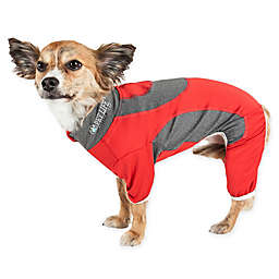 Pet Life® Active Warm-Pup Two-Tone Performance Dog Tracksuit