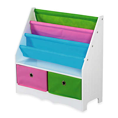 HDS Trading Bookcase and Storage Shelf