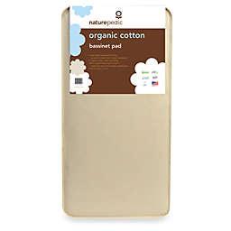 Naturepedic® Organic Cotton Bassinet Mattress Pad
