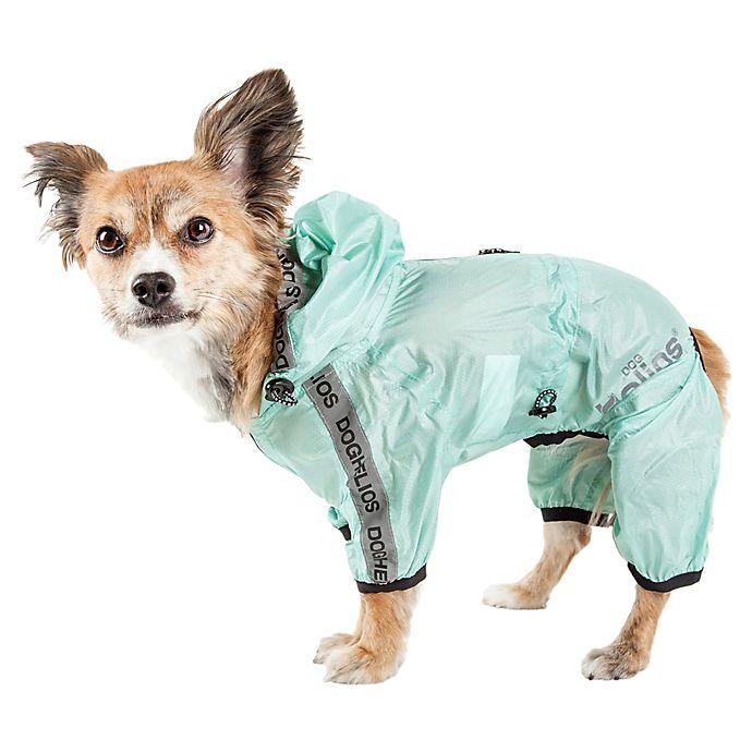 Alternate image 1 for Pet Life® Torrential Shield Full Body Dog Windbreaker Raincoat