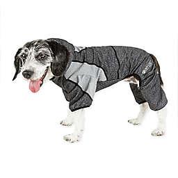 Pet Life® Fur-Breeze Medium Performance Dog Hoodie in Black