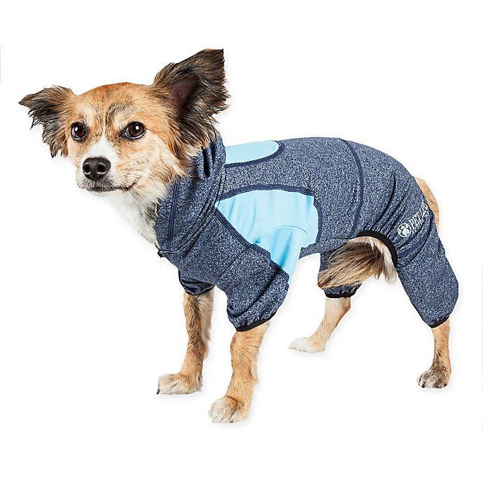 Alternate image 1 for Pet Life® Fur-Breeze Performance Dog Hoodie