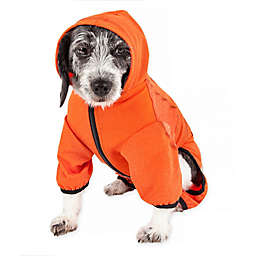 Pet Life® Pawsterity X-Small Performance Dog Hoodie in Orange