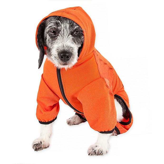 Alternate image 1 for Pet Life® Pawsterity Performance Dog Hoodie