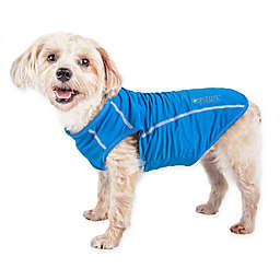 Pet Life® Active Racerbark Large Performance Dog Tank Top in Blue