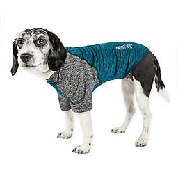 Pet Life® Active Hybreed Large 2-Tone Performance Dog T-Shirt in Teal