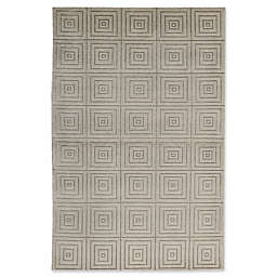 Bokara Rug Company® Himalayan 3'11 x 6'1 Hand-Knotted Area Rug in Ivory
