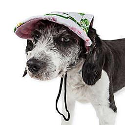 Pet Life® Botanic Bark Floral Dog Cap