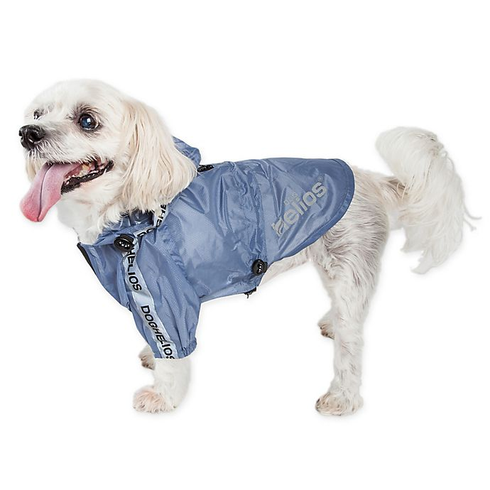 Alternate image 1 for Dog Helios® Torrential Shield Adjustable Dog Windbreaker Raincoat