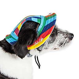 Pet Life® Colorfur Large Adjustable Brimmed Dog Hat