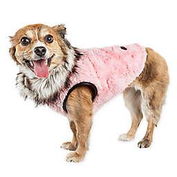 Pet Life® Large Luxe Pinkachew Dog Coat