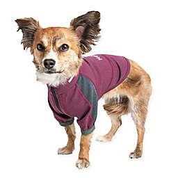 Pet Life® Helios Eboneflow 4-Way Stretch Performance Yoga Dog T-Shirt