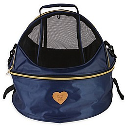 Air-Venture Dual-Zip Airline Approved Round Travel Pet Carrier
