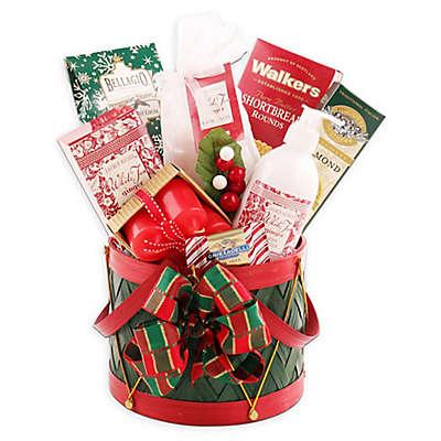 Holiday Spa Drum Gift Basket