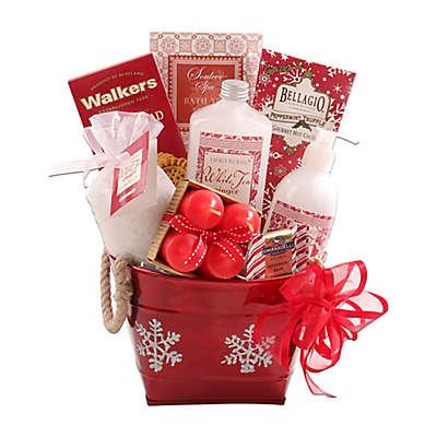 Alder Creek Holiday Snowflake Spa Gift Basket