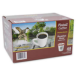 Pintail Coffee Breakfast Blend Medium Roast Pods for Single Serve Coffee Makers 96-Count
