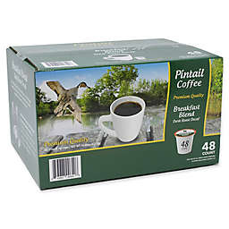 Pintail Coffee Breakfast Blend Decaf Dark Roast for Single Serve Coffee Makers
