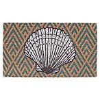Seashell Coir Door Mat