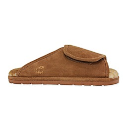 Lamo Luxury Wrap Men's Slipper in Chestnut