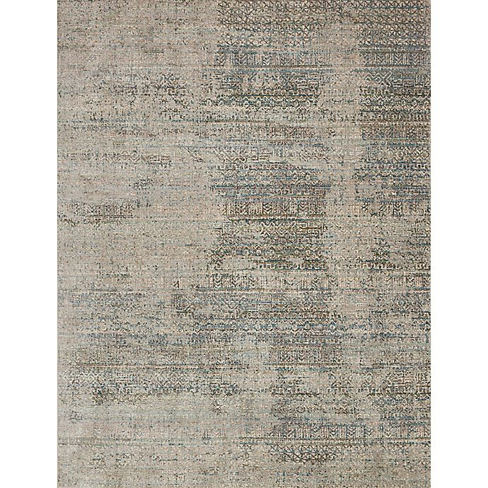 Alternate image 1 for Loloi Rugs Javari Abstract 12' x 15' Area Rug in Ivory/Sea