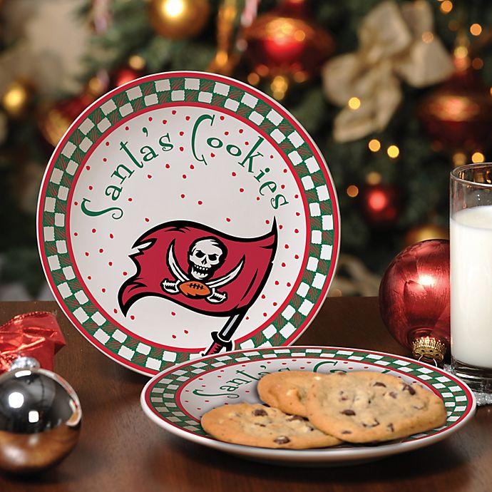 03cb6e0dc Tampa Bay Buccaneers Santa Cookie Plate