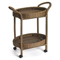 Rattan Serving Cart