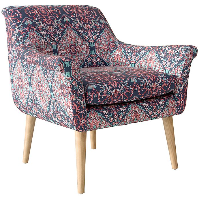 Alternate image 1 for Skyline Furniture Tabriz Cerulean Armchair in Blue