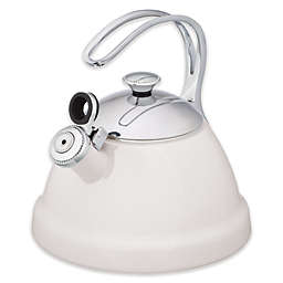 Copco® Beaded 2 qt Tea Kettle in White