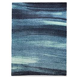 Blue Ocean Powerloomed Area Rug