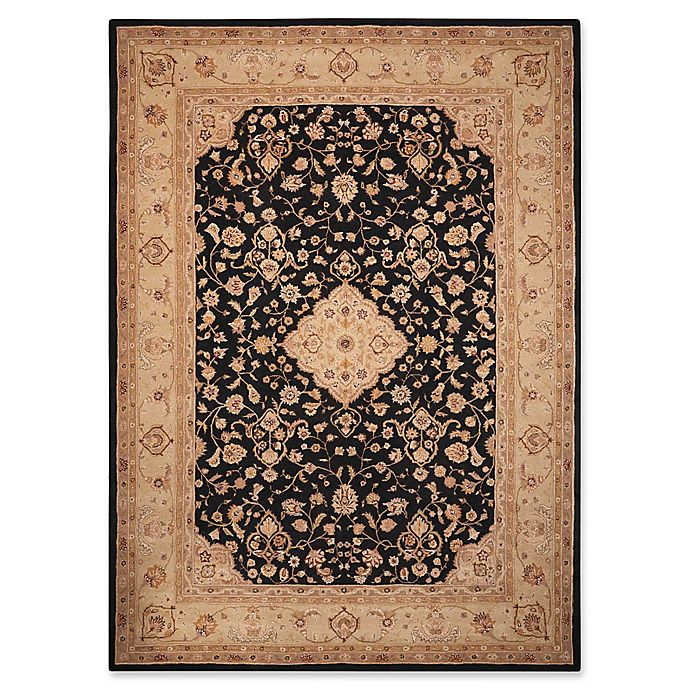 Alternate image 1 for Nourison Heritage Hall 12' x 15' Area Rug in Black/Tan