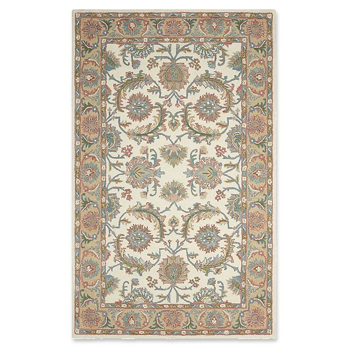Alternate image 1 for Nourison India House 2'6 x 4' Accent Rug in Ivory/Gold