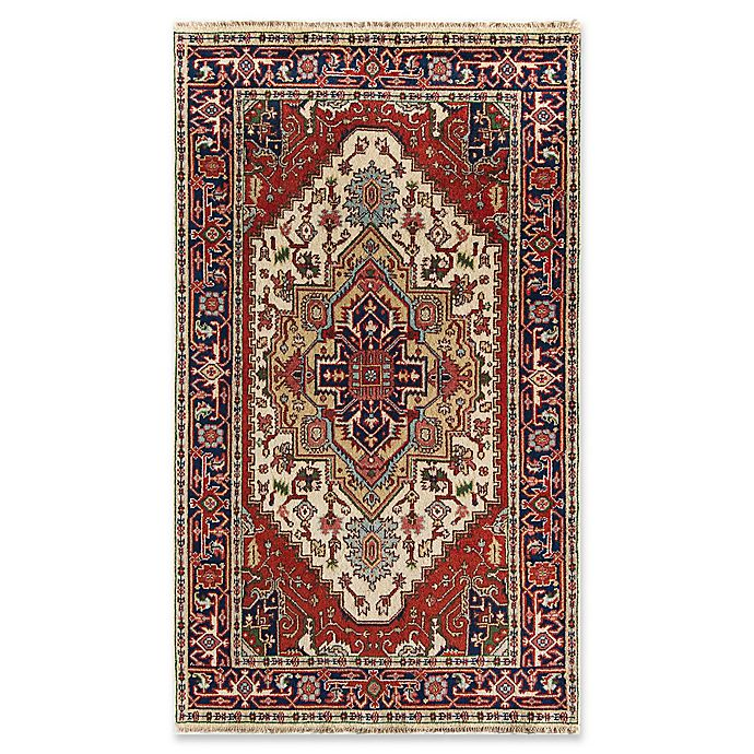 Alternate image 1 for Rugs America Selena 4' X 6' Hand-Knotted Area Rug in Ivory