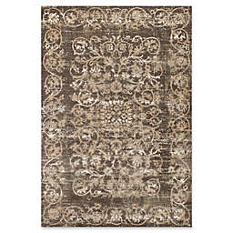 KAS Courtyard Crete 7'10 x 11'12 Area Rug in Taupe