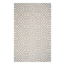KAS Eternity Escape Rug in Sand/Blue