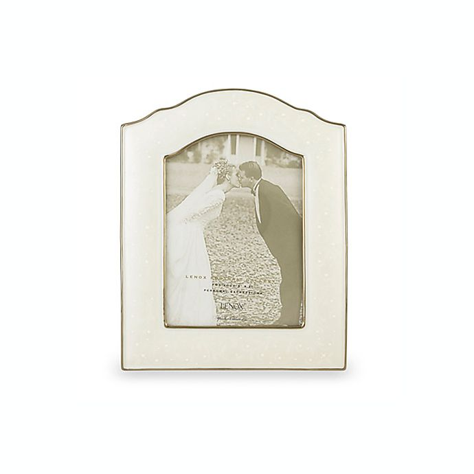 Lenox® Wedding Promises® Opal Innocence™ 5-Inch x 7-Inch Frame | Bed ...