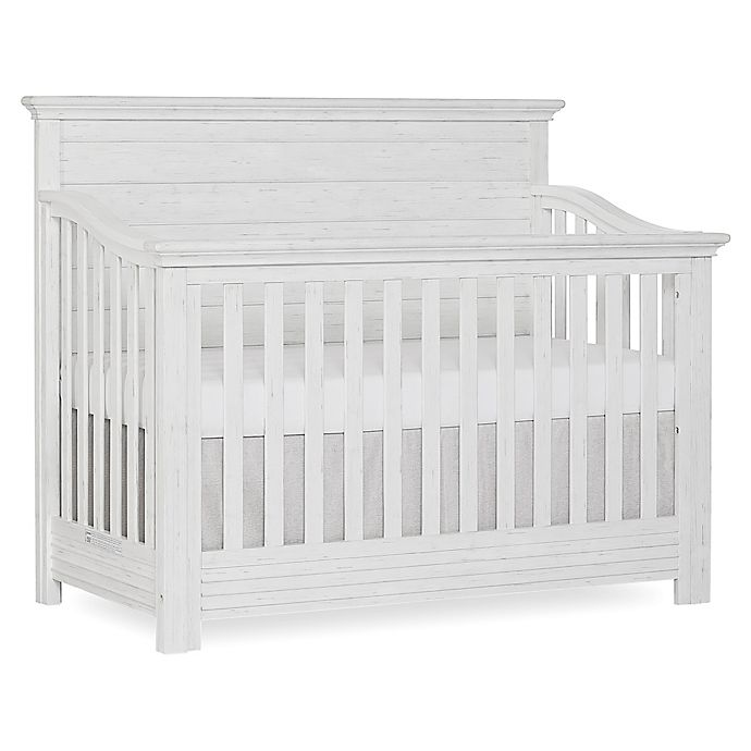 Alternate image 1 for evolur™ Waverly 5-in-1 Convertible Crib in Weathered White