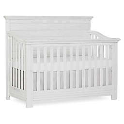 evolur™ Waverly 5-in-1 Convertible Crib in Weathered White
