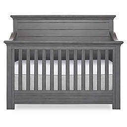 evolur™ Waverly 5-in-1 Convertible Crib in Rustic Grey