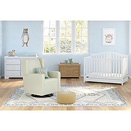 Graco® Solano 4-in-1 Convertible Crib with Drawer in White