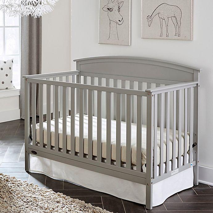 Graco 174 Benton 4 In 1 Convertible Crib In Pebble Grey Bed