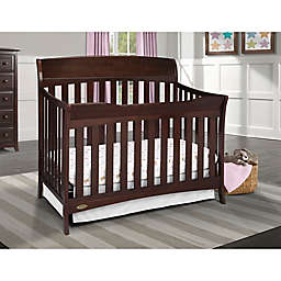 Graco Reg Lennon 4 In 1 Convertible Crib Espresso