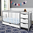 Part of the Graco® Remi 4-in-1 Convertible Crib and Changer in Grey/White