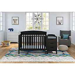 Graco® Benton 4-in-1 Convertible Crib and Changer in Black
